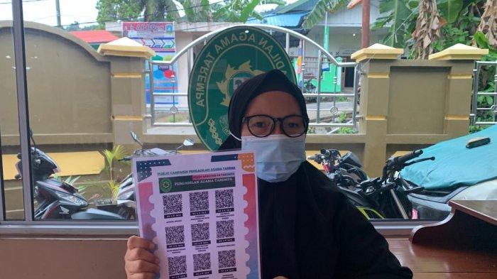 Pengadilan Agama Tarempa Anambas Rilis Inovasi Publik Campaign, Cukup Scan Barcode