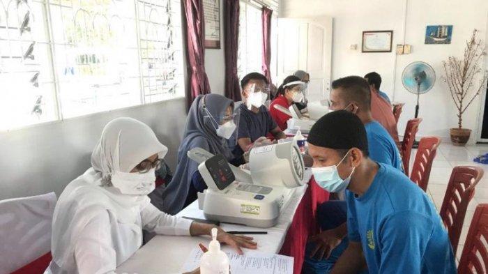 Ratusan Warga Binaan dan Petugas di Rutan Karimun Disuntik Vaksin Covid-19