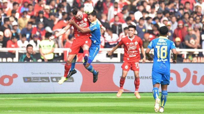 Hasil Akhir Persija Jakarta vs Arema FC, Kecolongan Gol di Menit Akhir, Laga Berakhir Imbang 2-2