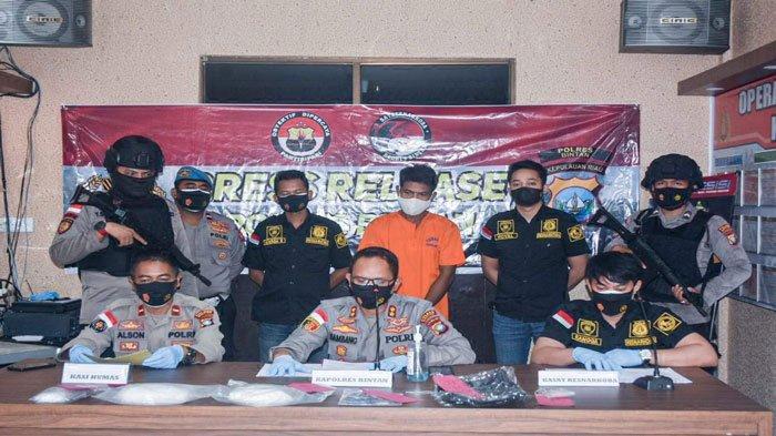 TKI dari Malaysia Disergap saat Susupkan Narkoba ke Bintan