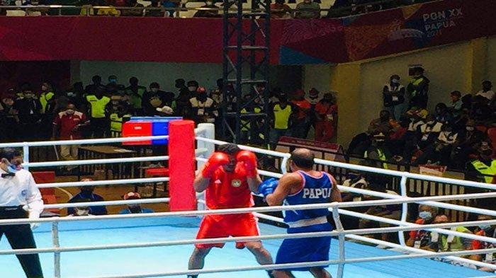 Peluang Kepri Raih Emas di Cabor Tinju PON Papua Sirna, Sandy Keok di Semifinal