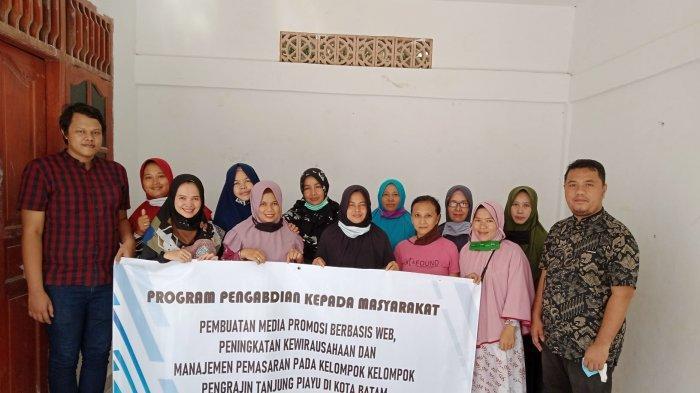Media Promosi Berbasis Web, Tingkatkan Kewirausahaan Pengrajin Tanjung Piayu Batam