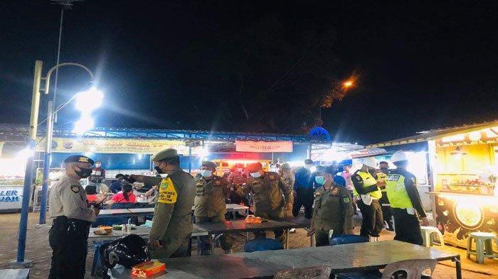 Batam Masih PPKM Level 3, Polresta Barelang Gelar Patroli Gabungan Malam Hari