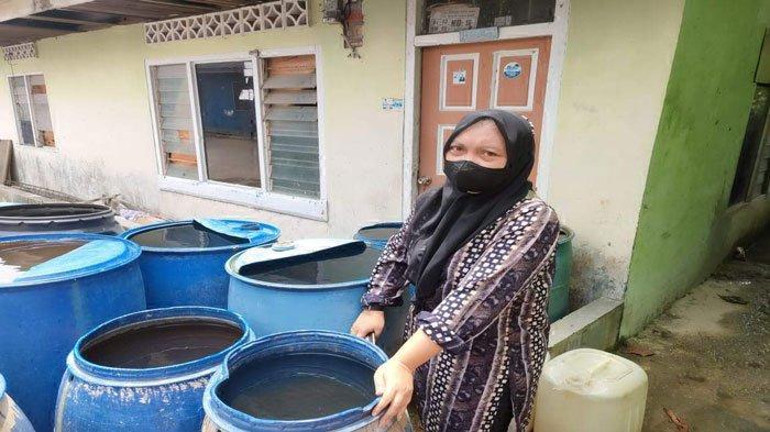 Warga Keluhkan Distribusi Air Bersih Macet di Teluk Keriting Tanjungpinang