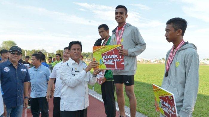 Kontingen Lingga Ungguli Kontingen Batam dalam Kejurda Atletik Antarpelajar se-Kepri