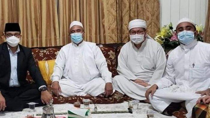 Anies Baswedan dan Tengku Zulkarnain Ketemu Habib Rizieq Shihab di Petamburan: Pertemuan 4 Sahabat