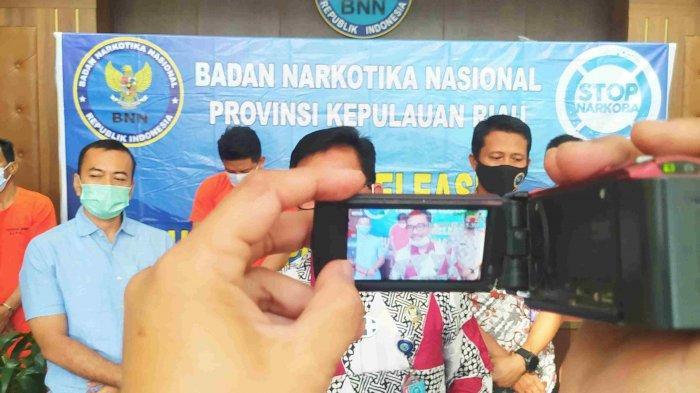 Satu DPO, BNNP Kepri Tangkap Tiga Orang terkait Penyelundupan 33 Kilo Sabu Asal Malaysia