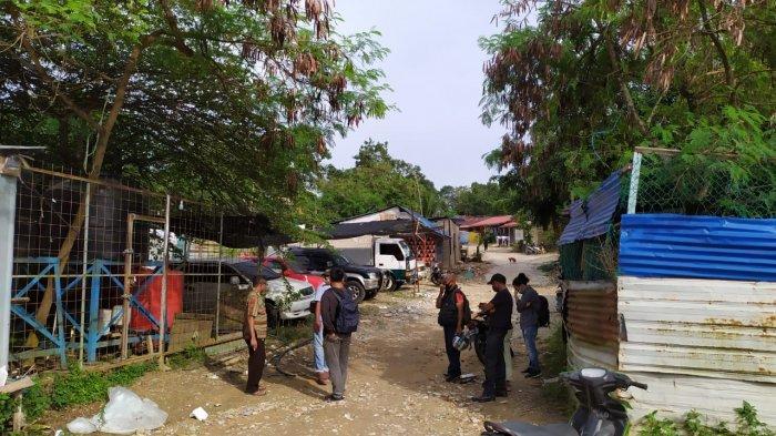 KAMPUNG AIR - Suasana kios air di Kampung Air, Kota Batam, Rabu (11/11/2020).