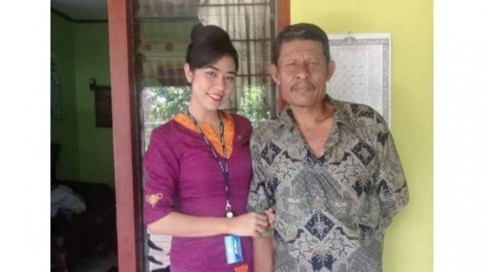 Permintaan Khusus Pramugari Sriwijaya Air ke Ayahanda Sebelum Tugas Terakhir Kali