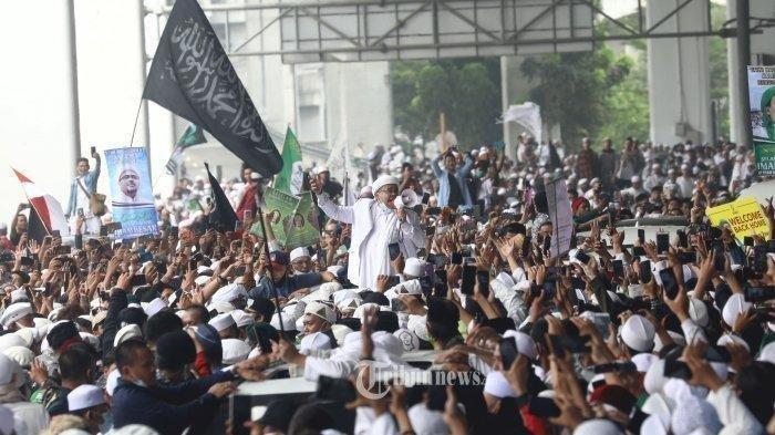 Viral Siswa Putih Abu-abu di Padang Pariaman Deklarasi Bebaskan Habib Rizieq, 'Takbir, Takbir!