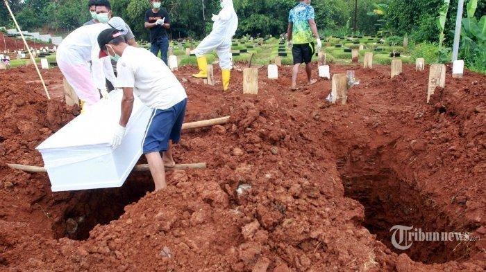 Kuburan Pasien Corona Dibongkar, Plastik Pembungkus Jenazah Dirobek, Begini Kondisi jasad