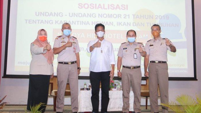 Walikota Batam Ingatkan Bahaya Penyakit Hewan dan Tumbuhan dari Luar Negeri