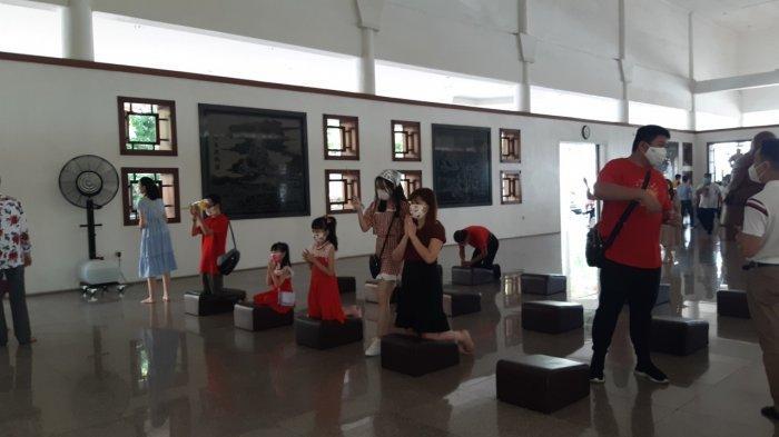 Maha Vihara Duta Maitreya Batam Rayakan Imlek dengan Ibadah Terbatas
