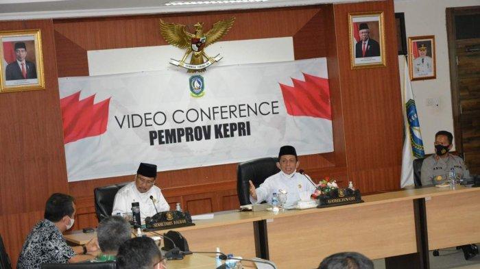Gubernur Bakal Bentuk Satgas Pengawas Labuh Jangkar di Kepri