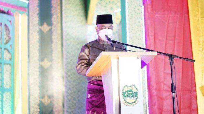 Bupati Lingga Muhammad Nizar Buka STQ ke IX Tingkat Kabupaten Lingga