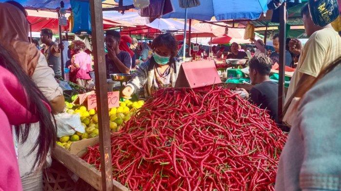 Harga Cabai Merah di Batam Naik Rp 5 Ribu Per Kilo di Pasar Tos 3000 Jelang Ramadhan 2021