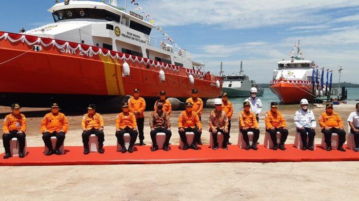 Buat Bangga, Kabasarnas Luncurkan 6 Kapal SAR Berteknologi Canggih Produksi Batam