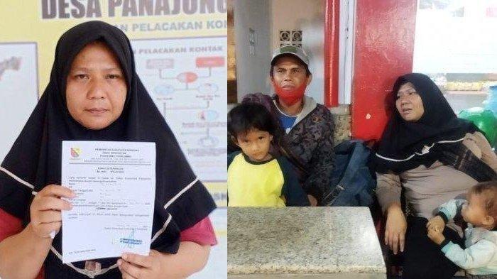 Nasib Dani dan Masitoh Pemudik Jalan Kaki dari Gombong ke Bandung, Settingan Supaya Dapat Simpati