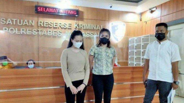 Selebgram Lesu saat Ditangkap Polisi, Keroyok Wanita Muda Depan Hotel dan Kamar Kos