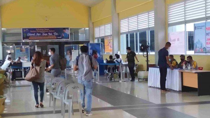 Suasana di Pelabuhan Ferry Telaga Punggur Batam H-1 Lebaran, Masih Ada Pelayaran