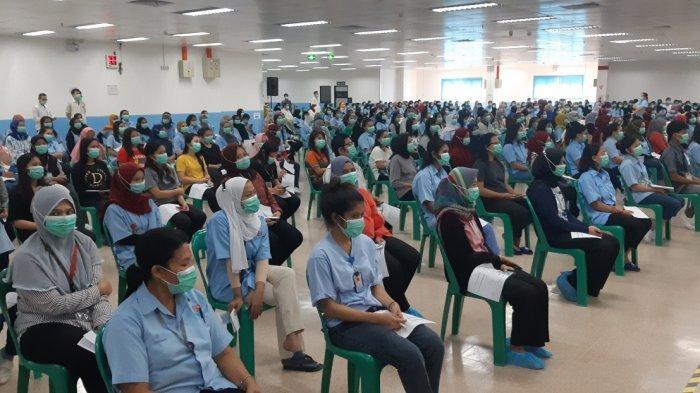 23.034 Buruh di Batam Bakal Dapat Vaksin Covid-19 hingga Akhir Juni 2021