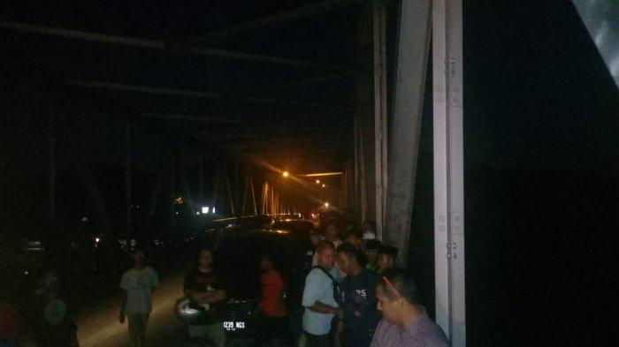 BREAKING NEWS, Bambang Siswa  SMPN 52 Batam yang Tenggelam di Jembatan Nongsa Pura Belum Ditemukan