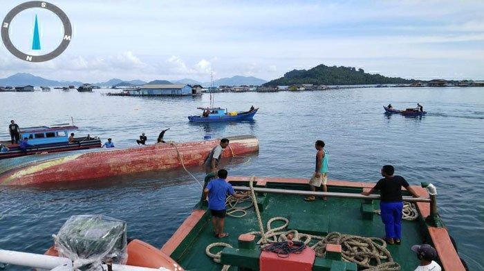 Kapal Nelayan Pontianak yang Hilang Kontak Ditemukan di Perairan Sedanau Natuna
