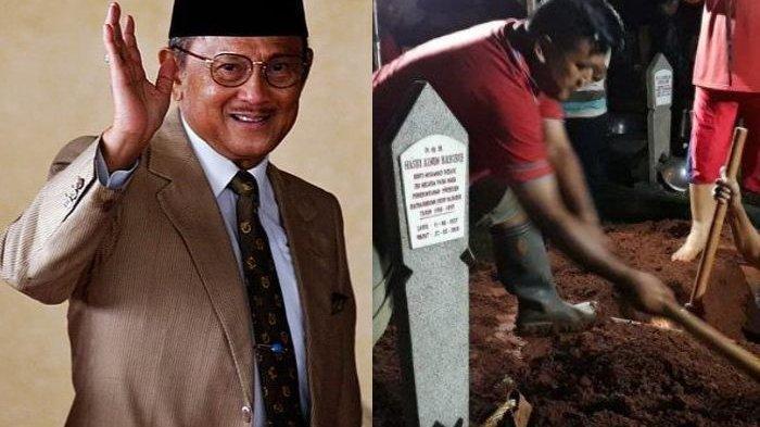 Cerita 10 Penggali Makam BJ Habibie yang Terkesan, Ungkap Tanah Kubur Empuk & Tiada Batu Sedikitpun