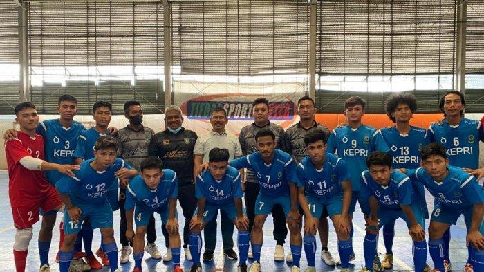 Selama Laga Uji Coba di Tangerang, Tim Futsal Kepri Belum Terkalahkan