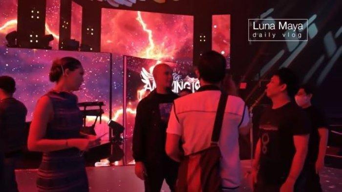 Momen Luna Maya bertemu dengan Ahmad Dhani dan Ariel NOAH