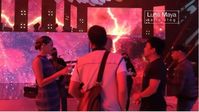 Begini Momen Luna Maya Ketemu Ariel NOAH di Stasiun TV, Ngobrol Santai hingga Tertawa Bareng
