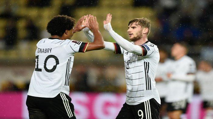 Timnas Jerman Lolos ke Piala Dunia 2022, Timo Werner Tampil Gemilang