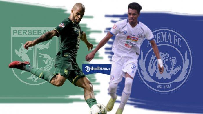 Link Live Streaming Liga 1 Pekan ke 32 Hari Ini Persebaya vs Arema FC, Kalteng Putra Jamu Persipura
