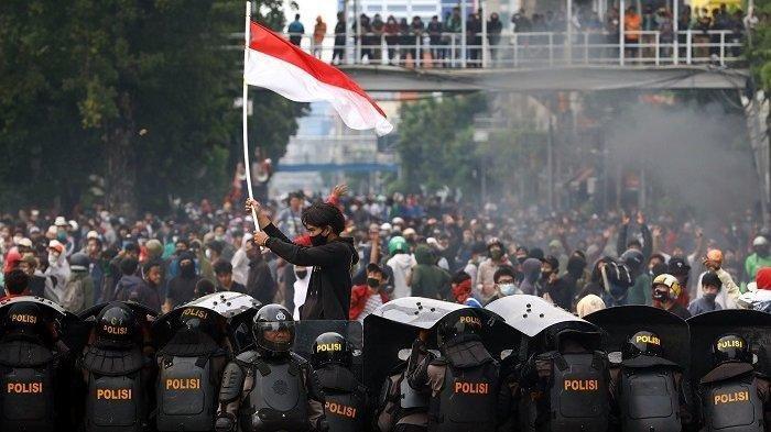 Streaming Kompas TV Demo Jakarta UU Cipta Kerja & Setahun Jokowi Ma'ruf Hari Ini Selasa 20 Oktober