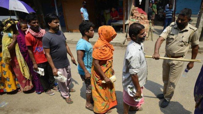 India Lockdown Lagi, Jumlah Kasus Covid-19 Kian Meningkat, Dekati Angka 1 Juta