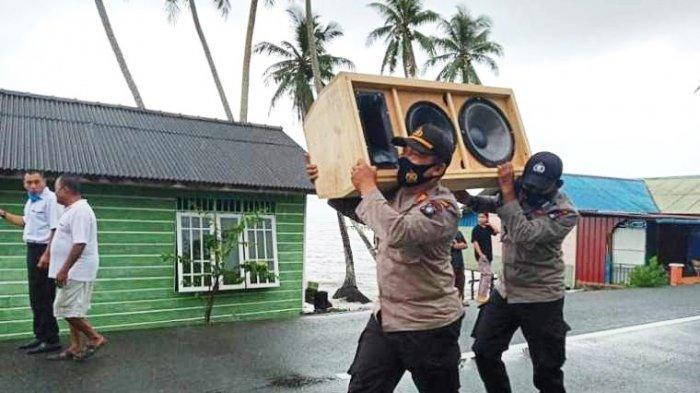 Air Laut Pasang, Belasan Rumah di Singkep Pesisir Lingga Terendam Banjir Rob