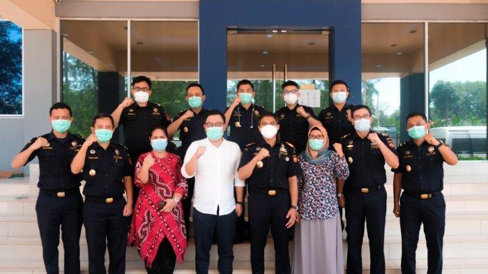 Bea Cukai Batam Kunjungi BSOA, Dukung Pertumbuhan Industri Galangan Kapal saat Pandemi