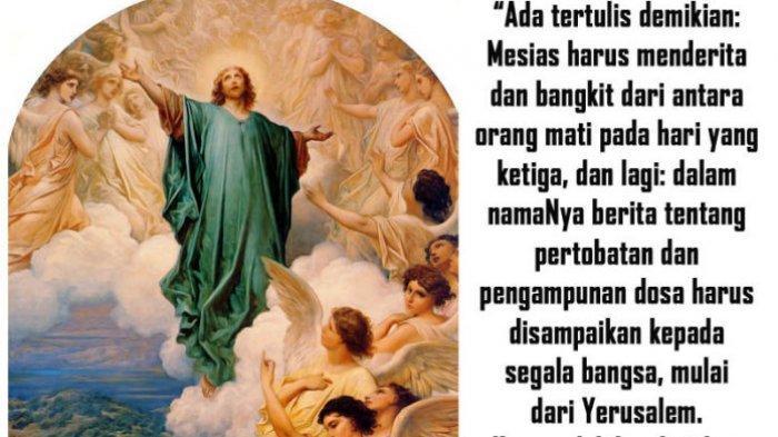 DOA, Bacaan dan Renungan Harian Katolik Kamis, 13 Mei 2021: 'Beritakan Injil Kepada Semua Makhluk'
