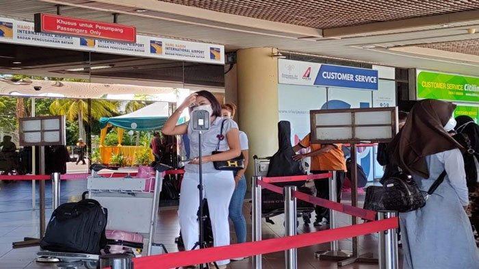 1000 Petugas Bandara Hang Nadim Batam Divaksin Covid-19