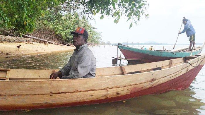 Berjuang di Masa Pandemi, Suku Laut Lingga Jual Sampan ke Pulau-Pulau