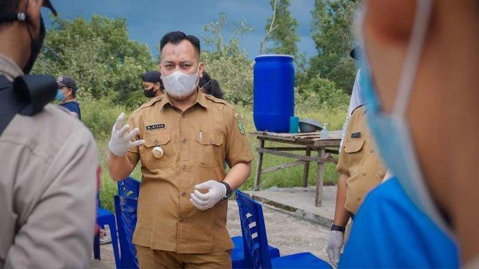Kunjungi Kelurahan Pancur, Bupati Lingga Ajak Warga Ikhtiar Hadapi Covid-19