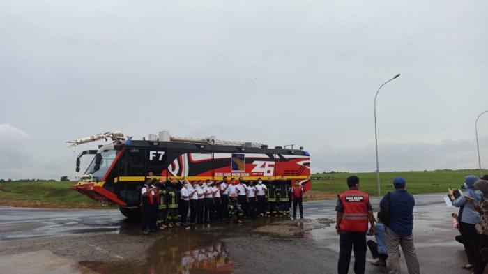 Tugas dan Kekuatan Pertolongan Kecelakaan Penerbangan dan Pemadam Kebakaran Bandara Hang Nadim Batam