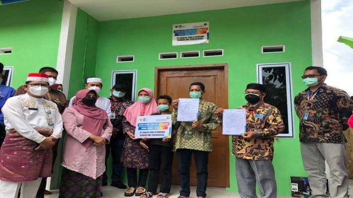Impian Ahmad Ridwan dan Istri Idamkan Rumah Layak Huni Akhirnya Terwujud