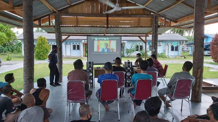 179 Nelayan Vietnam di Natuna Menunggu Dipulangkan ke Negara Asal