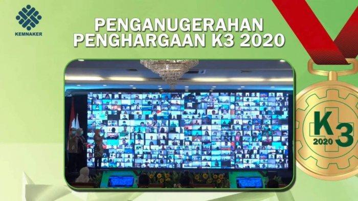 PGN Raih Penghargaan Keselamatan dan Kesehatan Kerja (K3) 2020 dari Kementerian Ketenagakerjaan RI