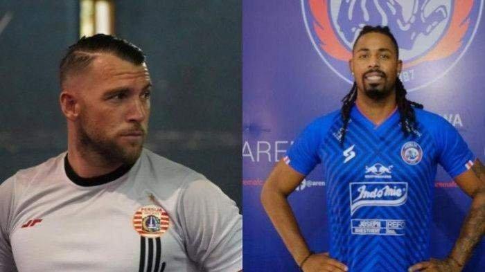Statistik Carlos Fortes dan Marko Simic Jelang Arema FC vs Persija