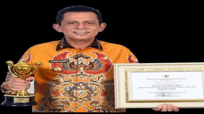 Pemprov Kepri Kembali Terima Penghargaan Anugerah Parahita Ekapraya ke-11 Kali