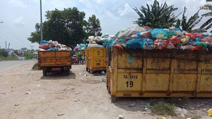 Petugas DLH Batam Lambat Ganti Bin Kontainer, Pengangkutan Sampah di Sagulung Molor