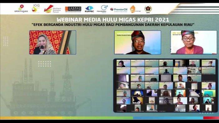 KKKS Kepri dan SKK Migas Gelar Lomba Karya Tulis Jurnalistik 2021 Bagi Wartawan