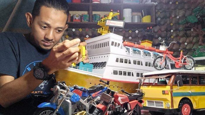 Kisah Edy Sukses Geluti Usaha Miniatur, Berawal dari Hobi, Pernah Jadi Bintang Tamu di Acara TV